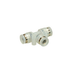 Tube Fitting Polypropylene Type Union Tee for Clean Environments