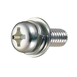 Cross Recessed Pan Head Screw, P=3 (SW + JIS Flat W), for Thin Plates