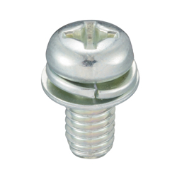 Phillips Pan Head Screw SP-4 (Spac+JIS Small Flat W)