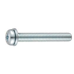 Phillips Pan Head Screws IK-1 (ISO Small Flat W)