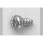 Cross/Straight-Recessed Pan Head Tapping Screw, Type 2 Grooveless B-0 Shape