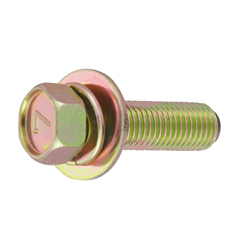 7-Mark Small Hex Upset Screw, SP-3 (Spac + JIS Flat W) Fine
