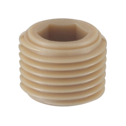 Resin Taper Plug with Hex Hole