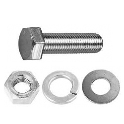 Hex Bolt Set (Hex Nut/Round Washer/Spring Washer Set)