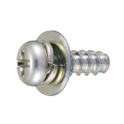 Tap-Tight B Type Pan Screw P=3 (SW+JIS Flat W)