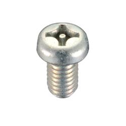 Tamperproof screw, cross pin pan head screw