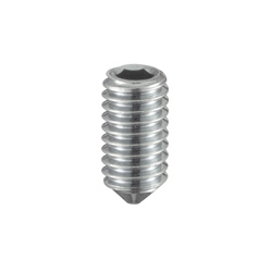 Hex Set Screw with Tapered End - Inch Size