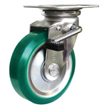 Standard Press Casters - Medium Load (Swivel Type with Stopper)