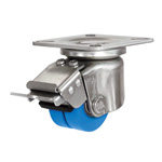 Dual Wheel Caster for Low Platform Heavy Loads HJTB
