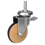 Wood Wheel Caster LGBIS LGBISB