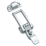 Stainless Steel Hatch Clip with Key Hole C-1297