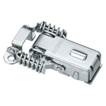 Stainless Steel Catch Clip with Key C-1007-21