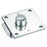 Stainless Steel, Square Push-Button Handle Lock, C-1079