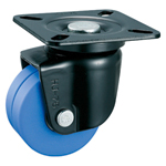 Low Floor Type for Heavy Load, Swivel Caster without Stopper (Dual-Wheel) K-508-W