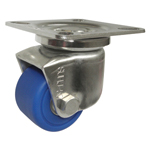 Stainless Steel Low Platform Heavy Duty Swivel Caster without A Stopper, K-1508