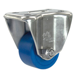 Stainless Steel Fixed Caster for Low Floor Heavy Loads, K-1558