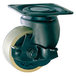 Swivel Casters for Heavy Loads with Stopper K-100HBS-PA