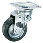 Pressed Large Swivel Caster with Stopper, K-50S