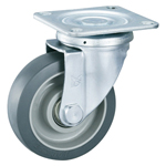Gray Wheel Swivel Caster without Stopper - K-612J