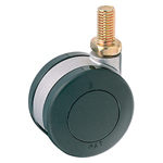 Screw Double Wheel Swivel Caster without Stopper K-200GN
