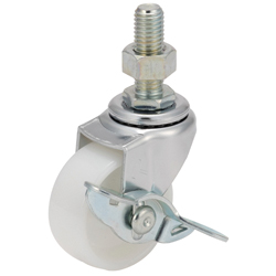 Long Screw Type Independent Casters with Stopper, K-415EA