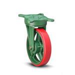 Ductile Caster for Tow Cart, Caster, SR
