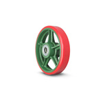 Ductile Caster Wheels Standard Type Urethane Wheels ULB