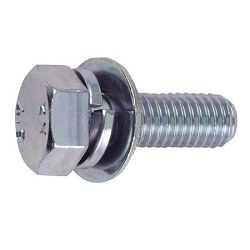Bolts with Washers (Trivalent Chromate/Streamer Type)