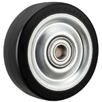 Dedicated Caster H Series Wheel, Rubber Wheel for Heavy Loads H-RB (Gold Caster/GOLD CASTER)
