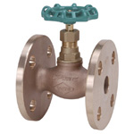 150 E Type - Bronze Flanged Globe Valve