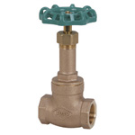J10K Bronze Screw Down Gate Valve (JIS B 2011) <<This Product Displays The New JIS Mark.>>