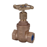 Core Tight Valve J10K Type, Lead-Free Bronze Gate Valve for Burying (Non-Stem Riser Type) (JV5)