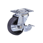 Nylon Wheel (Packing Caster) with Standard Class 100-Ns Track Type Stopper