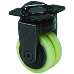 Super Heavyweight Class 600X-PA Fixed Type for Ultra-Heavy Weight, PA Polyurethane Wheels (Packing Casters)