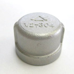 Stainless Steel Threaded Pipe Fitting Cap