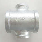 Pipe Fittings for Fire-Protection Piping Unequal Diameter Cross