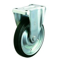 Silence Caster Fixed Wheel Plate Type (with Stopper)