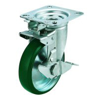 JK-S Swivel Wheel (Swivel Rigid Type) Plate Type