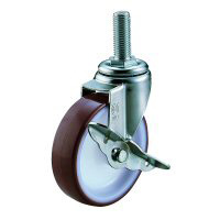 SUS-ET-S Swivel Caster Screw-in Type (with Stopper)