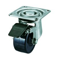 SUS-HG-S Swivel Caster, Plate Type (with Stopper)