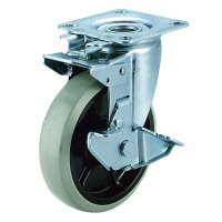 J2K-S Model Swivel Wheel (Swivel Rigid Type) Plate Type