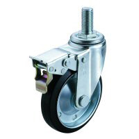 SJT-SW Swivel Caster Screw-in Type (with Double Stopper)