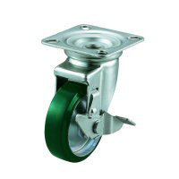 J-S Swivel Caster, Plate Type (with Stopper)