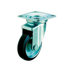 J Swivel Caster, Plate Type