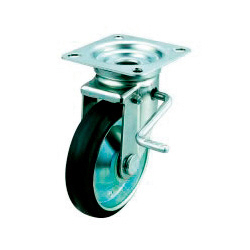 JB Swivel Caster, Plate Type (with Double Stopper)