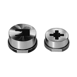 Special Shaped Button Dies Dowel Slot Type